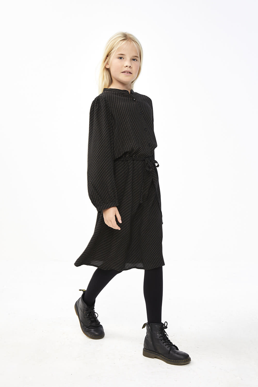 By-Bar By-bar - Rikki stitched dress jet black
