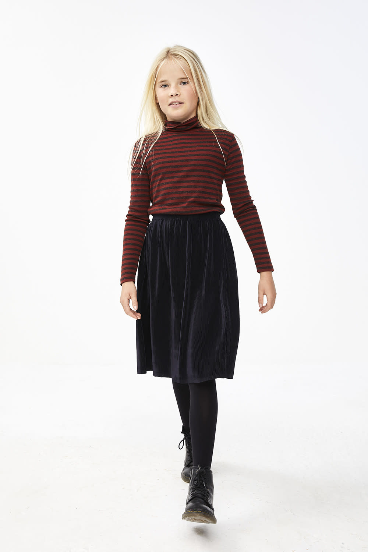 By-Bar By-bar - Suus plisse skirt midnight