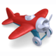 GreenToys Green Toys - Airplane Red