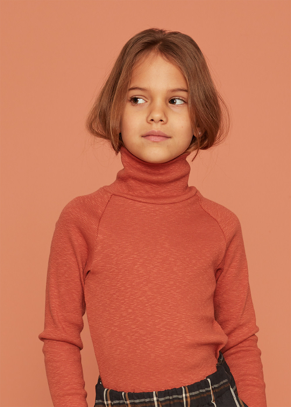 Kids on the moon Kids on the moon - Copper turtleneck top