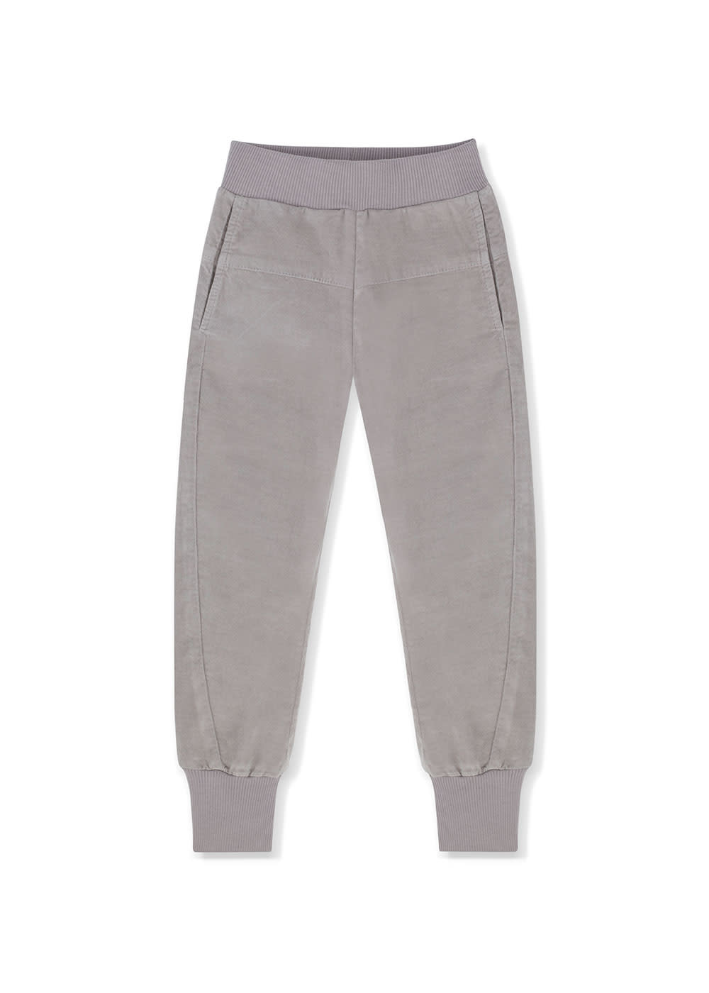 Kids on the moon Kids on the moon - Grey cord joggers