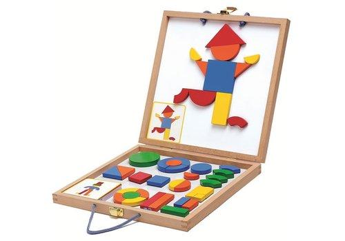 Djeco Djeco - Wooden Magnetic box