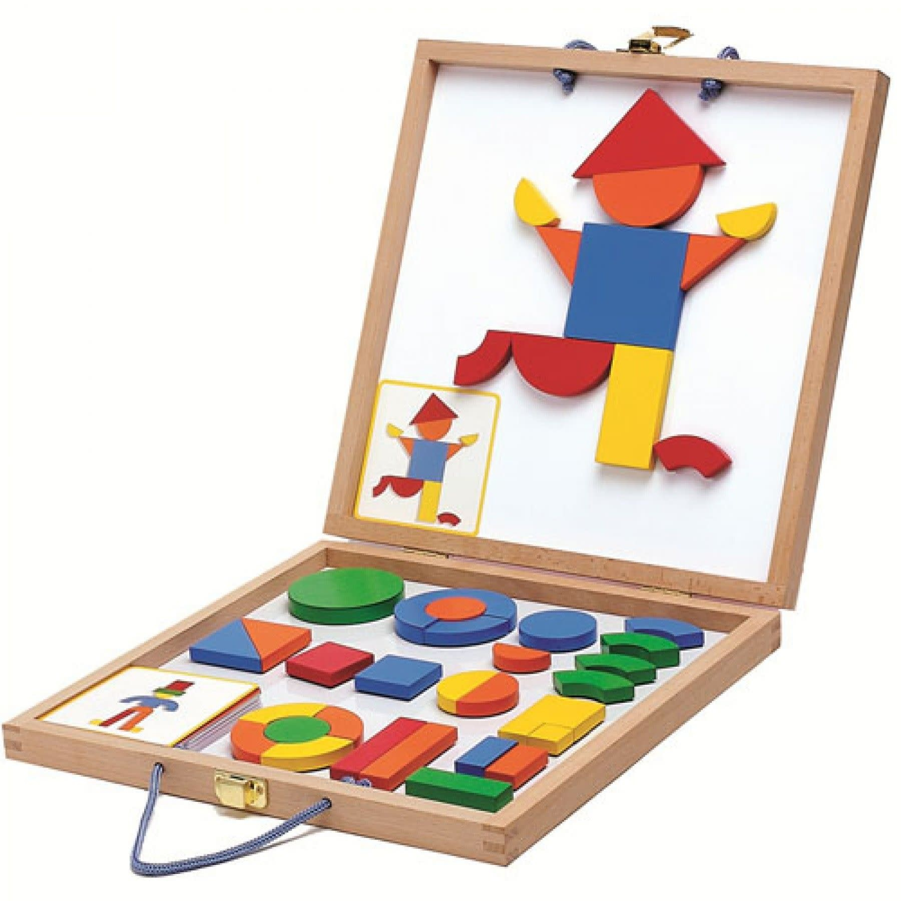 Djeco Djeco - Wooden Magnetic box