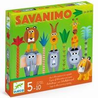 Djeco - Savanimo snelheid- en waarnemingsspel