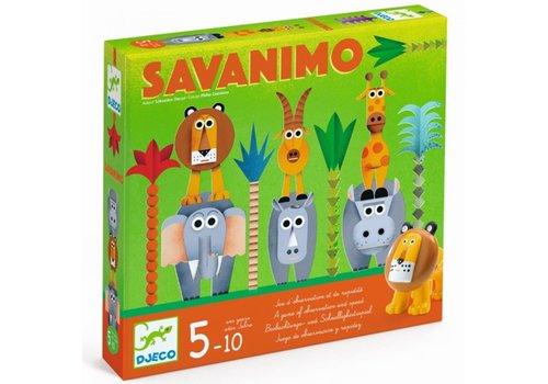 Djeco Djeco - Savanimo snelheid- en waarnemingsspel