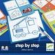 Djeco Djeco - Tekenkaarten Auto step by step