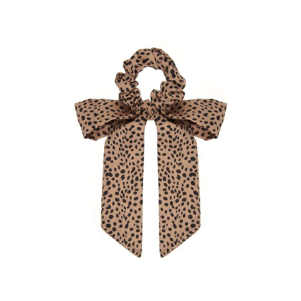 Mimi & Lula Mimi & Lula - Leopard scrunchie with tails