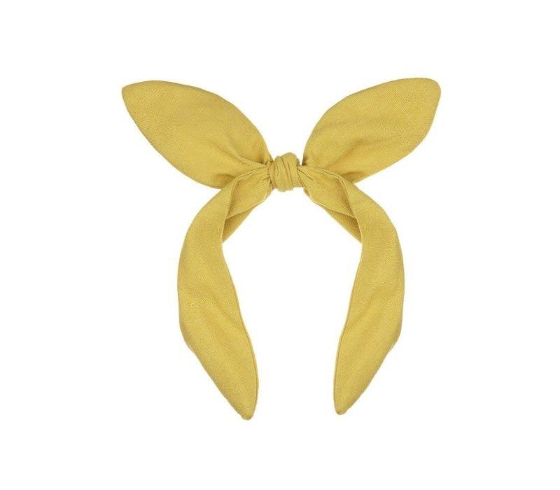 Mimi & Lula - Linen coco bow alice