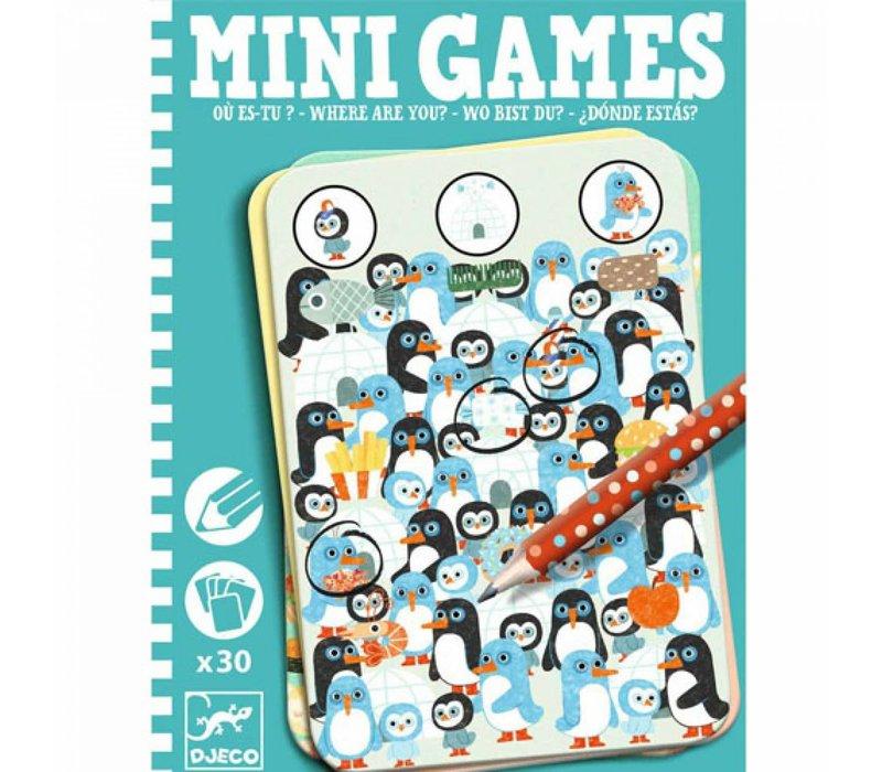 Djeco - mini games waar ben jij?