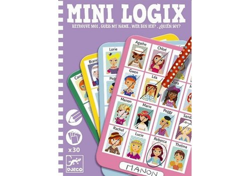 Djeco Djeco - mini games  wie ben jij Julie