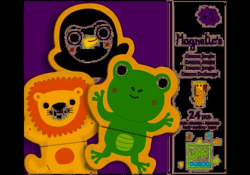 Djeco Djeco - Coucou Jungle houten puzzel