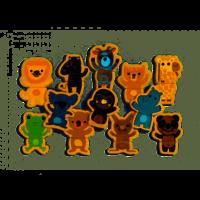 Djeco - Coucou Jungle houten puzzel