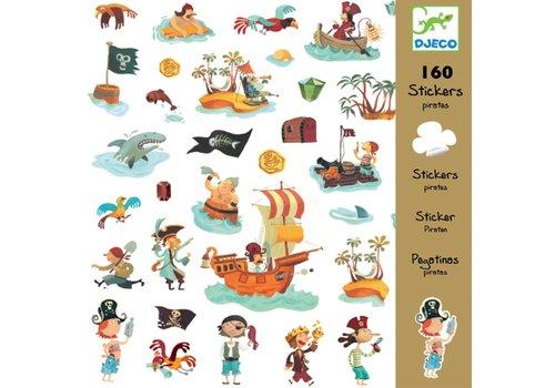 Djeco Djeco - Stickers Piraten