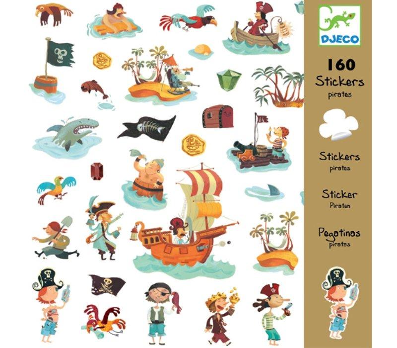 Djeco - Stickers Piraten