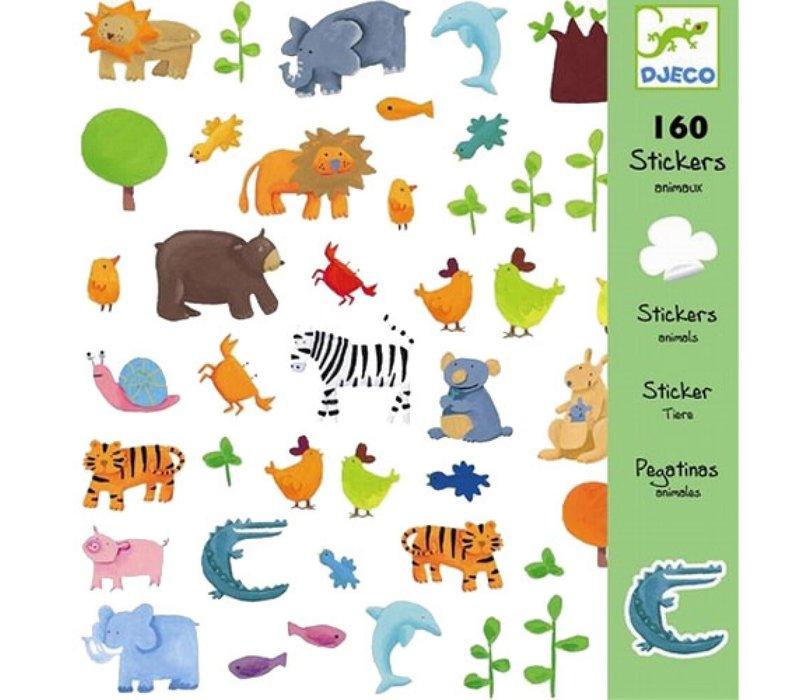 Djeco - Stickers Dieren