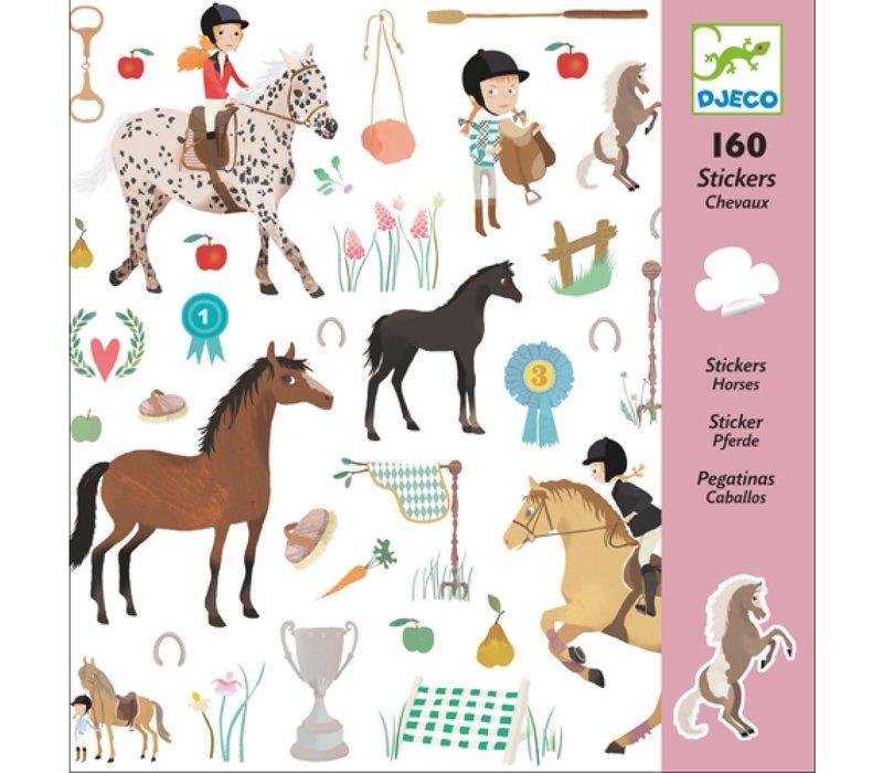 Djeco - Stickers Paarden