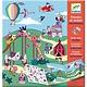 Djeco Djeco - Stickerboek Kermis