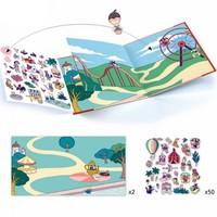 Djeco - Stickerboek Kermis