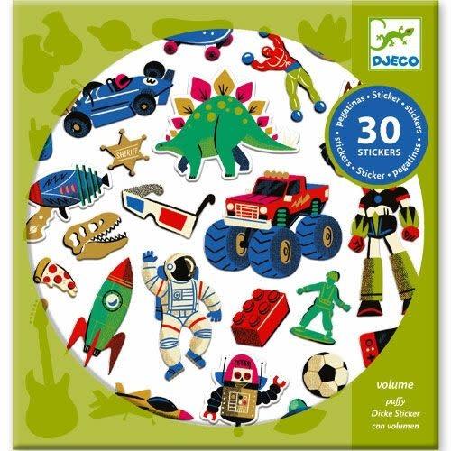 Djeco Djeco - Stickers Retro speelgoed