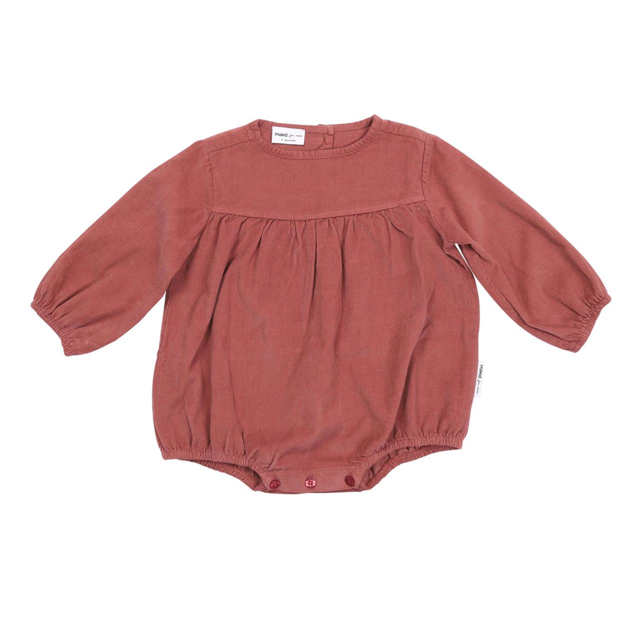 Maed For mini Maed for mini - Baby bodysuit blushing bizon