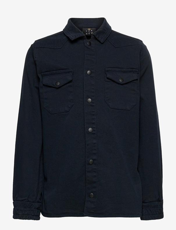 The New The New - Roleg bomber LS shirt
