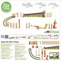 Djeco - Zig & Go knikkerbaan 27 st.