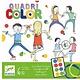 Djeco Djeco -  Quadri Color Spel