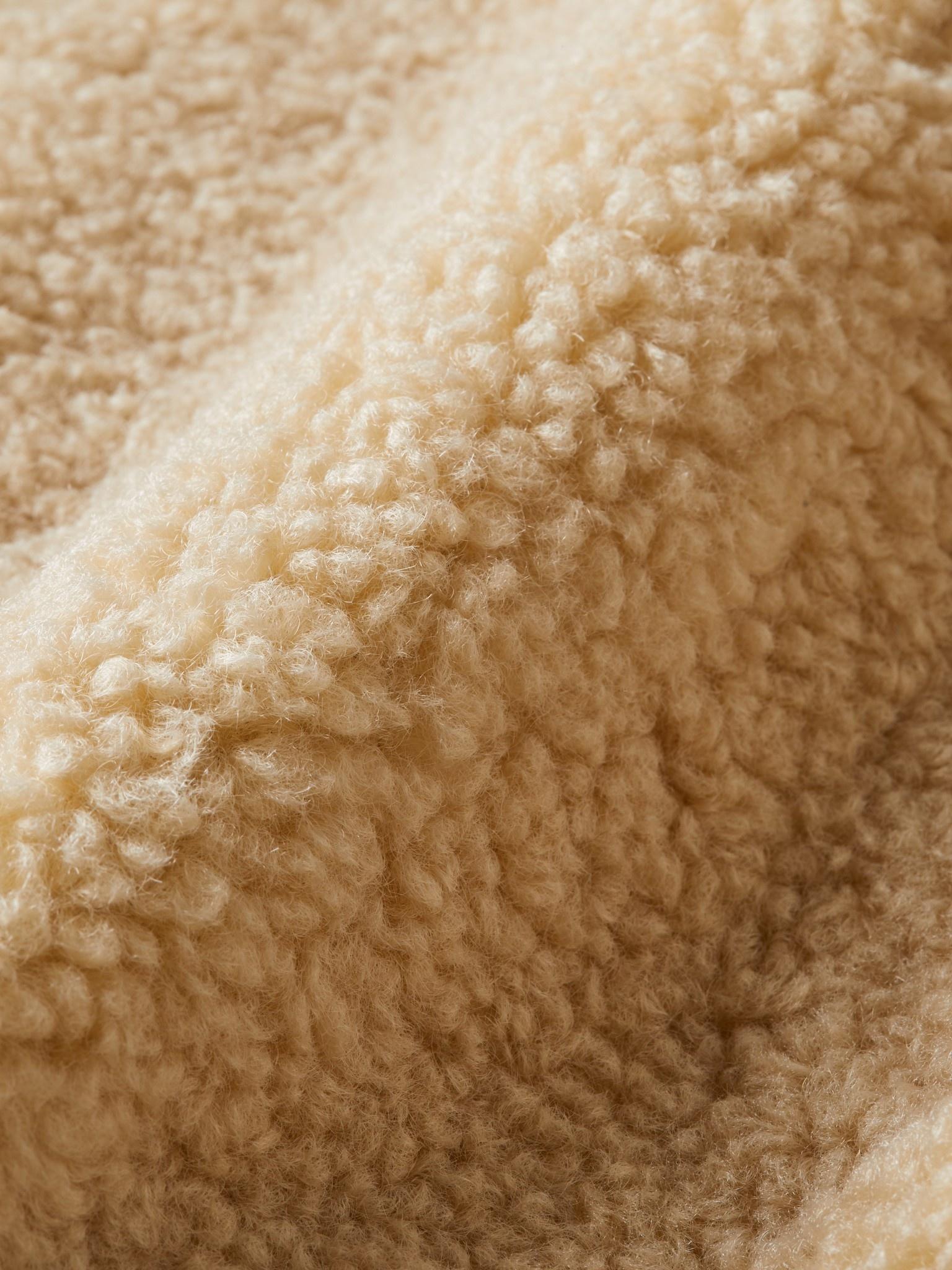 Scotch Rbelle Scotch - Short length bonded teddy jacket with hood 157916