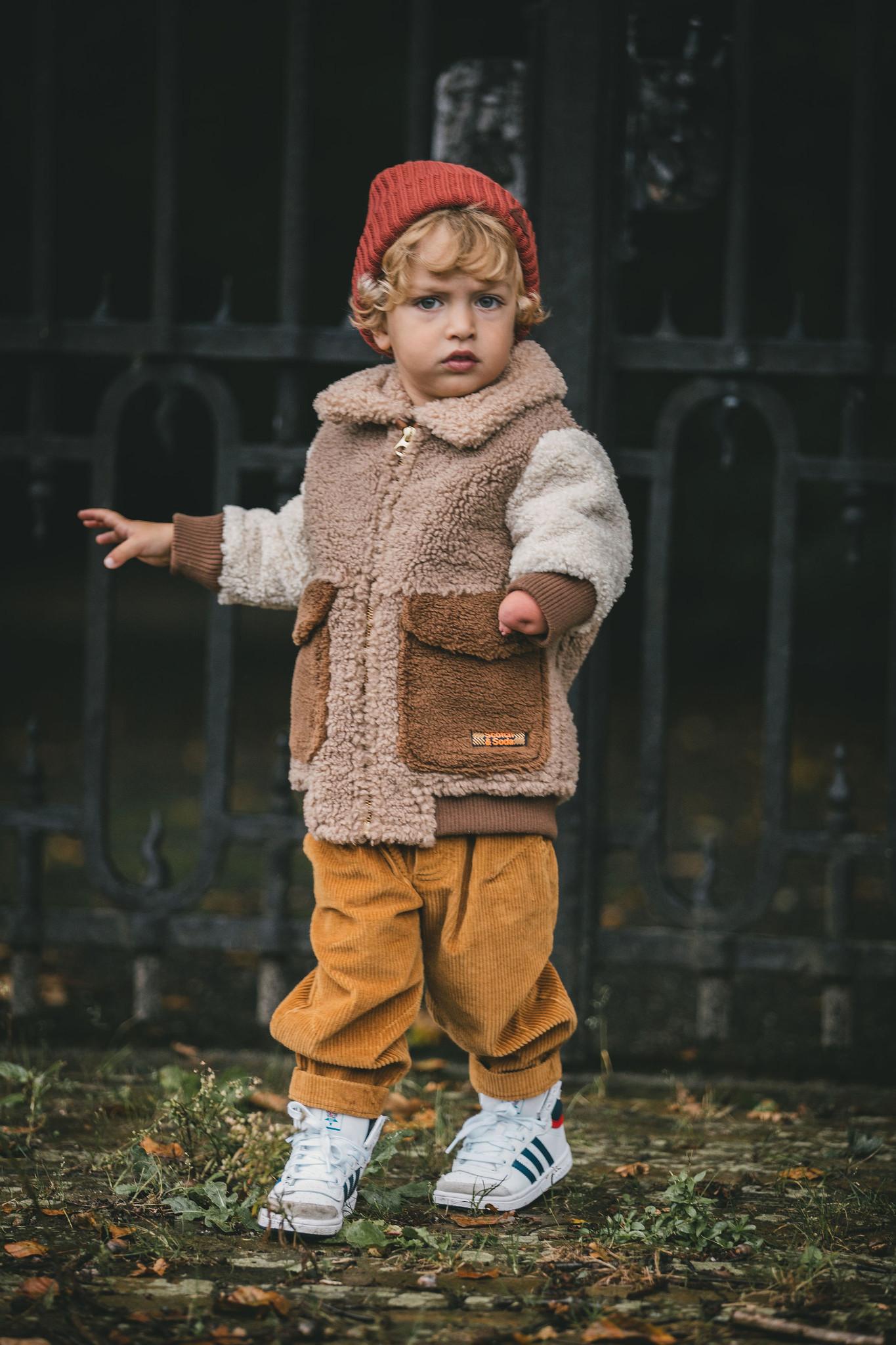 Scotch Shrunk Scotch - Teddy bomber jacket 157628