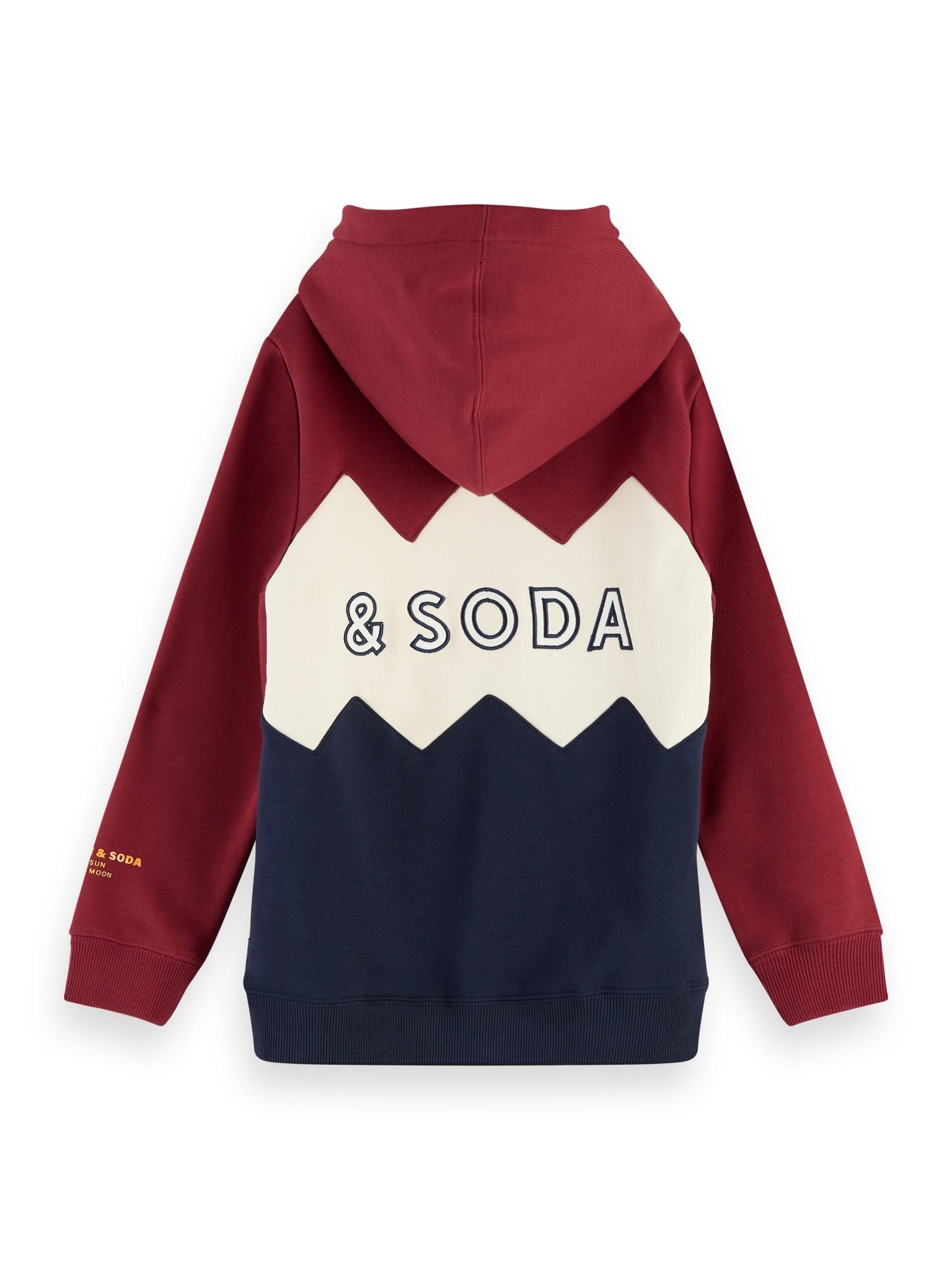 Scotch Shrunk Scotch - Colour block hoodie 0605, 157696