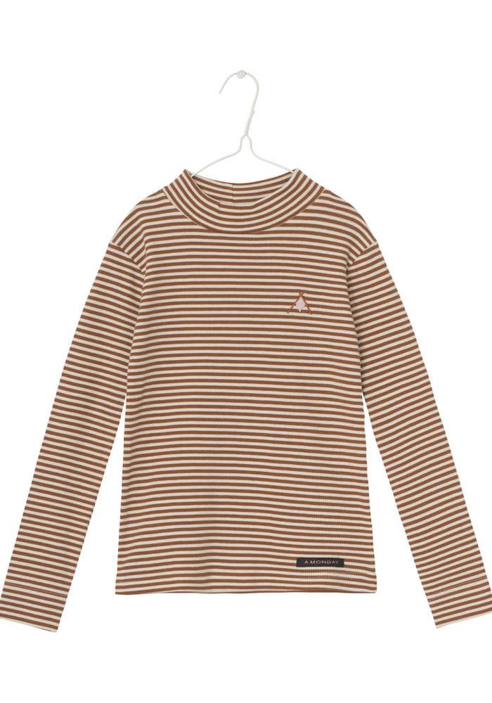 A Monday A Monday - Ami t-shirt antique white stripe