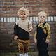 Soft Gallery Soft gallery - Becket pants golden brown leospot aop