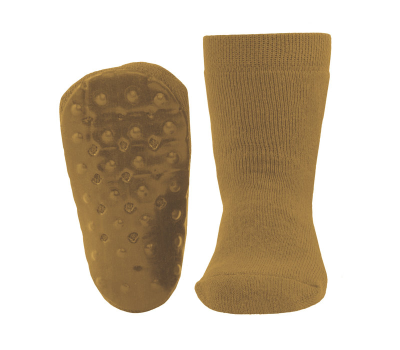 Ewers - Anti-slip socks uni kurkuma