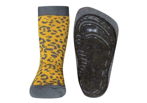 Ewers Ewers - Antislip sok honing leopard