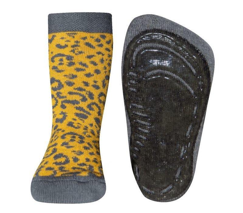 Ewers - Antislip sok honing leopard