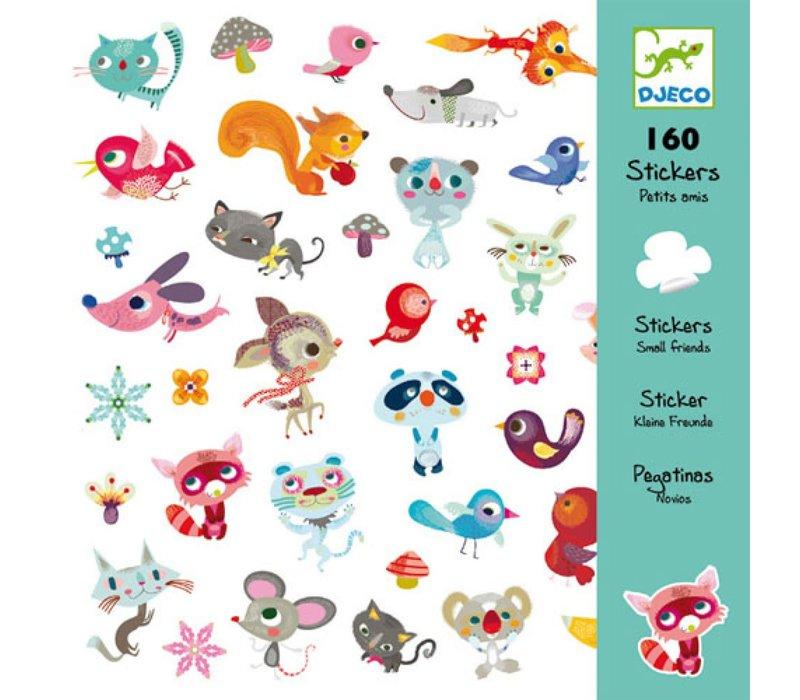 Djeco - Stickers kleine dieren