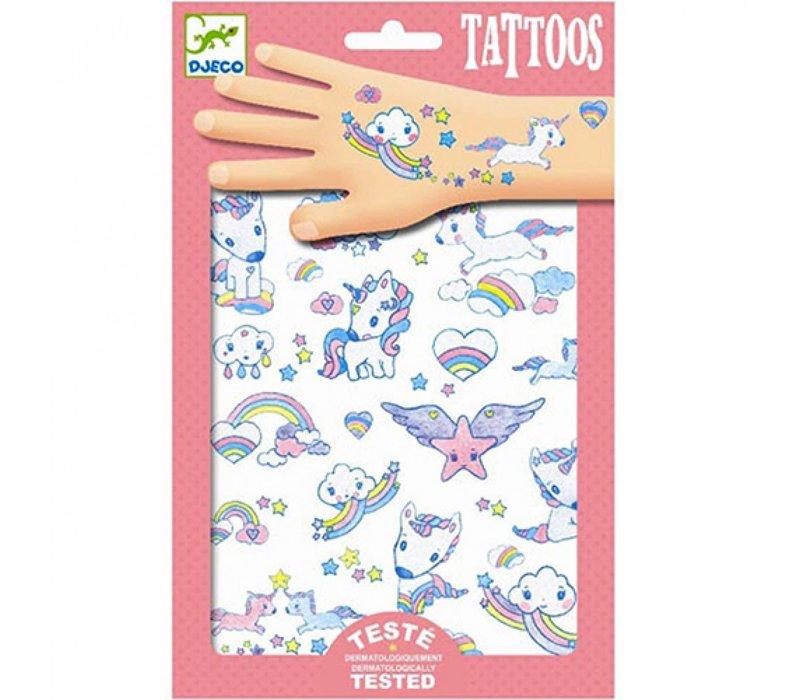 Djeco - Tattoos Unicorn
