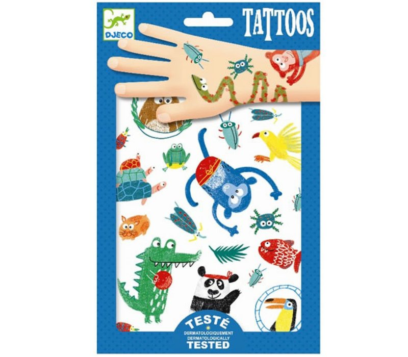 Djeco - Tattoos Snoeten