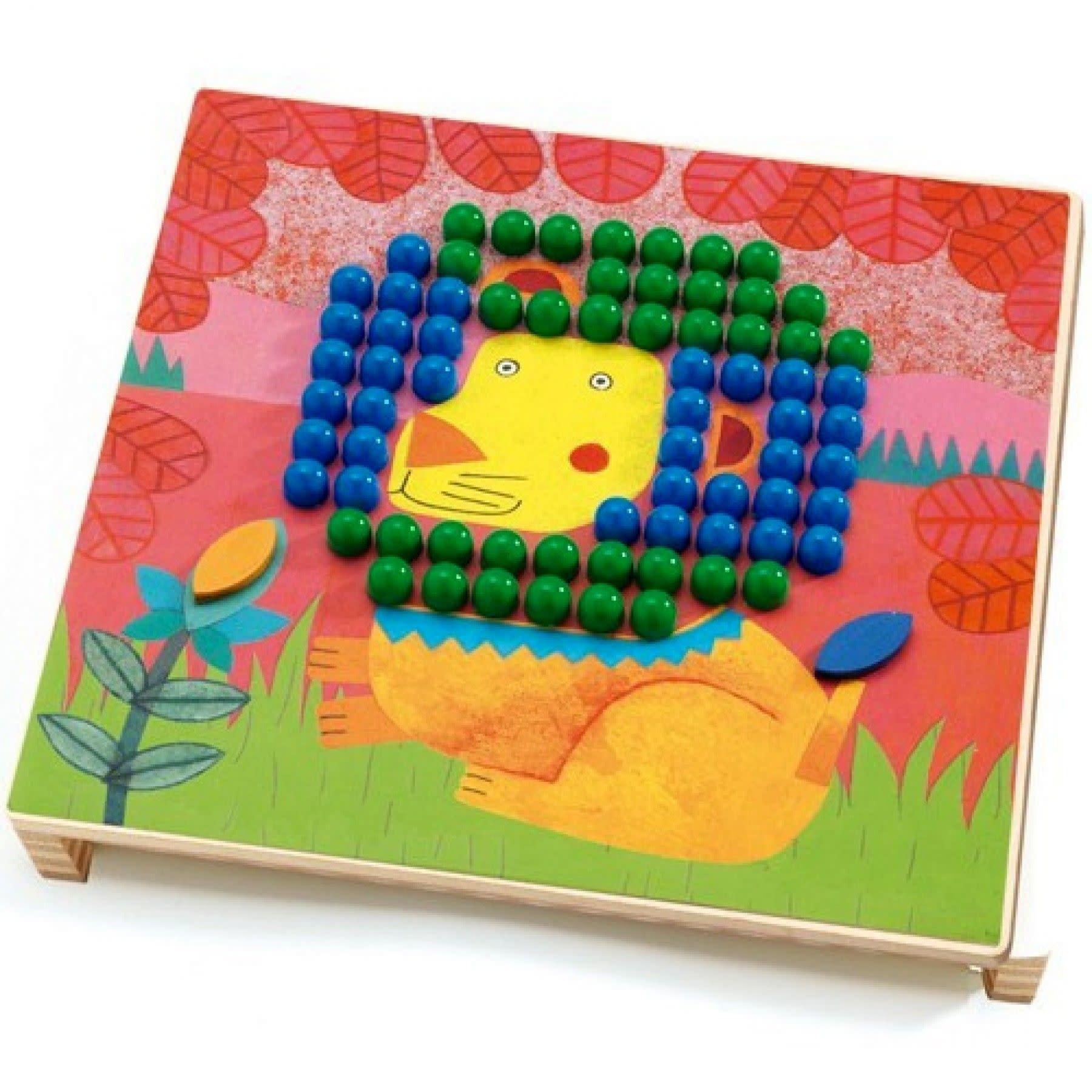 Djeco Djeco - Mozaïek puzzel dieren