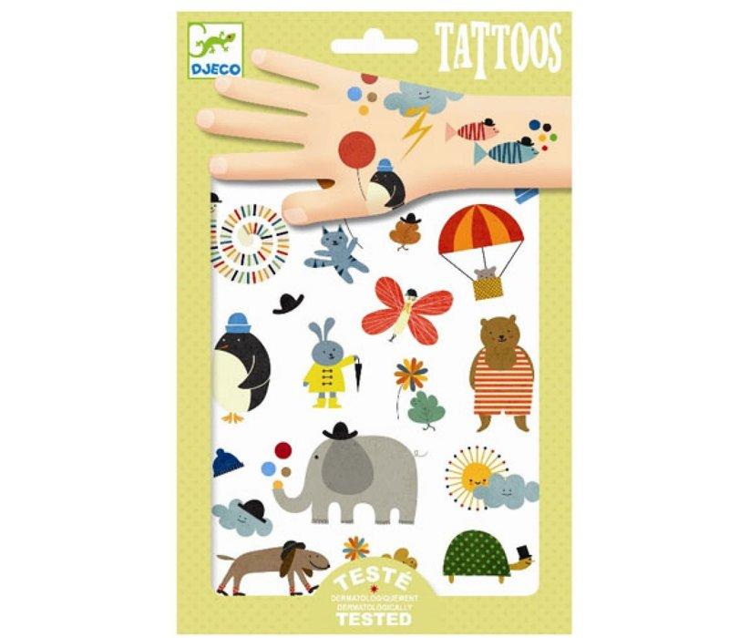 Djeco - Tattoos Mooie dingen