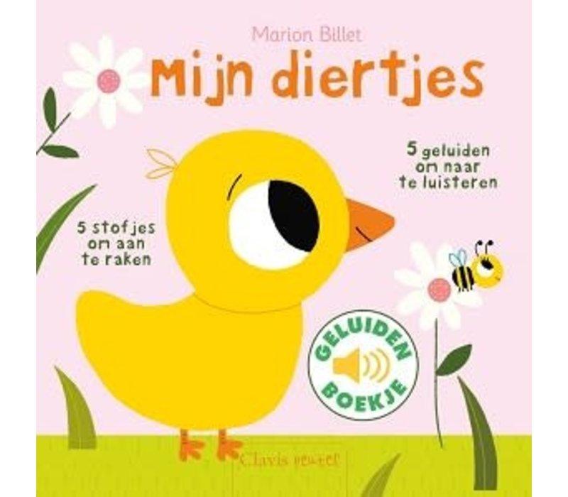 Boek - Geluidenboek Mijn diertjes