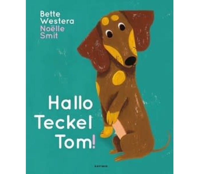 Boek - Prentenboek Hallo Teckel Tom