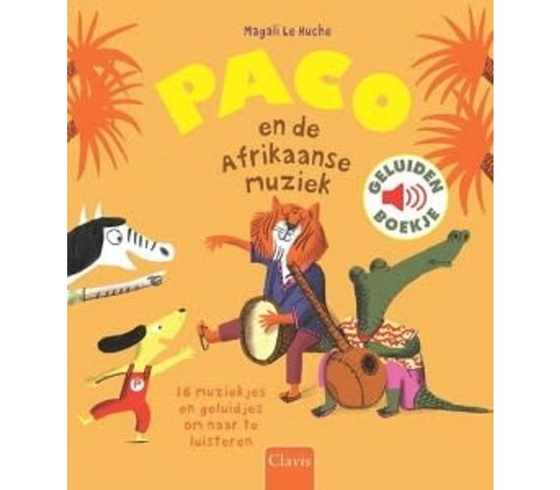 Boek - Paco en de Afrikaanse muziek