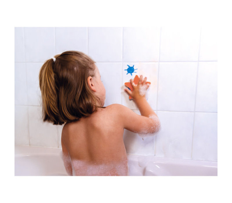 Janod - Badspeelgoed Kleuren in bad