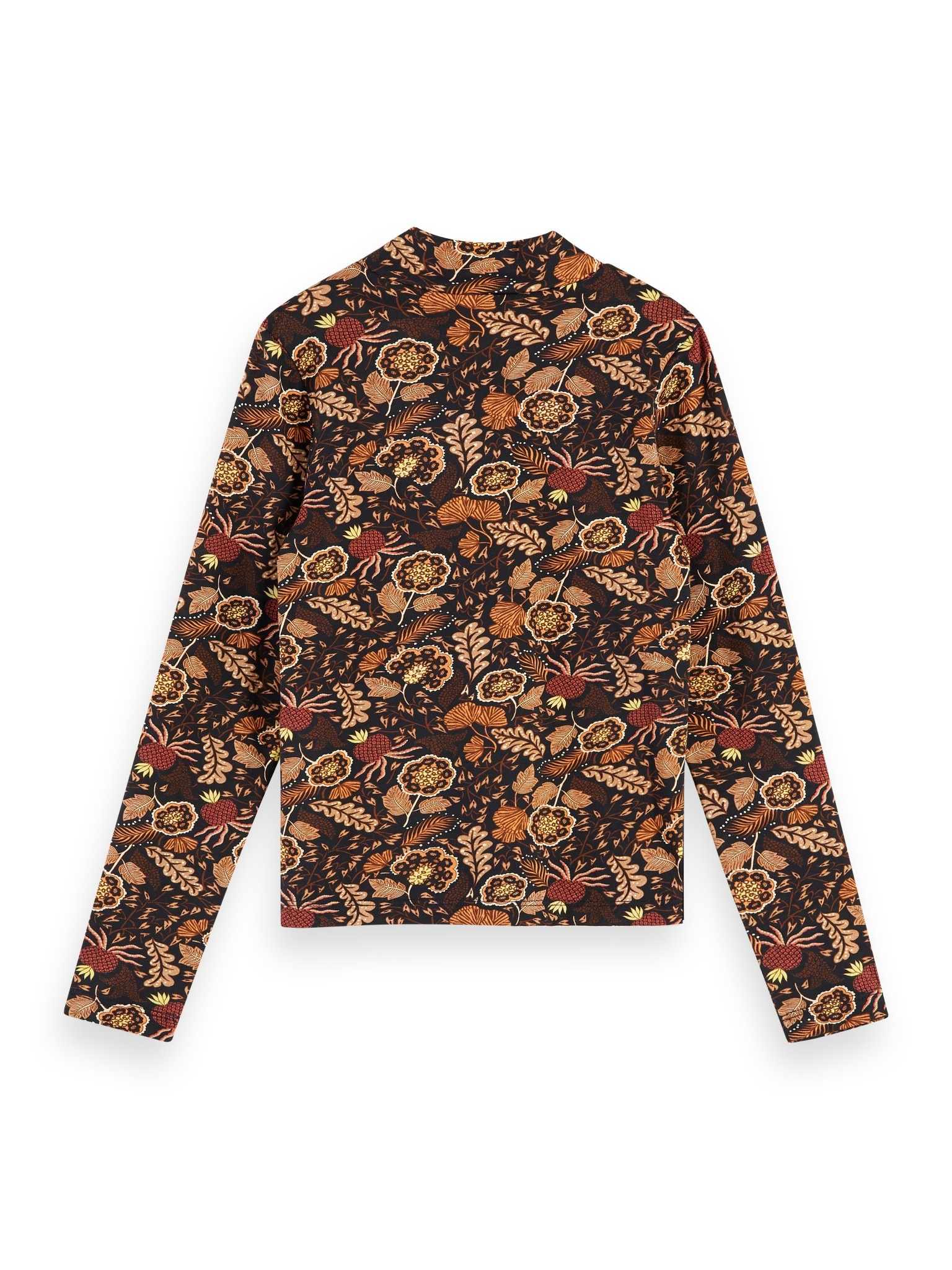 Scotch Rbelle Scotch - All-over printed long sleeve tee 0217, 158086
