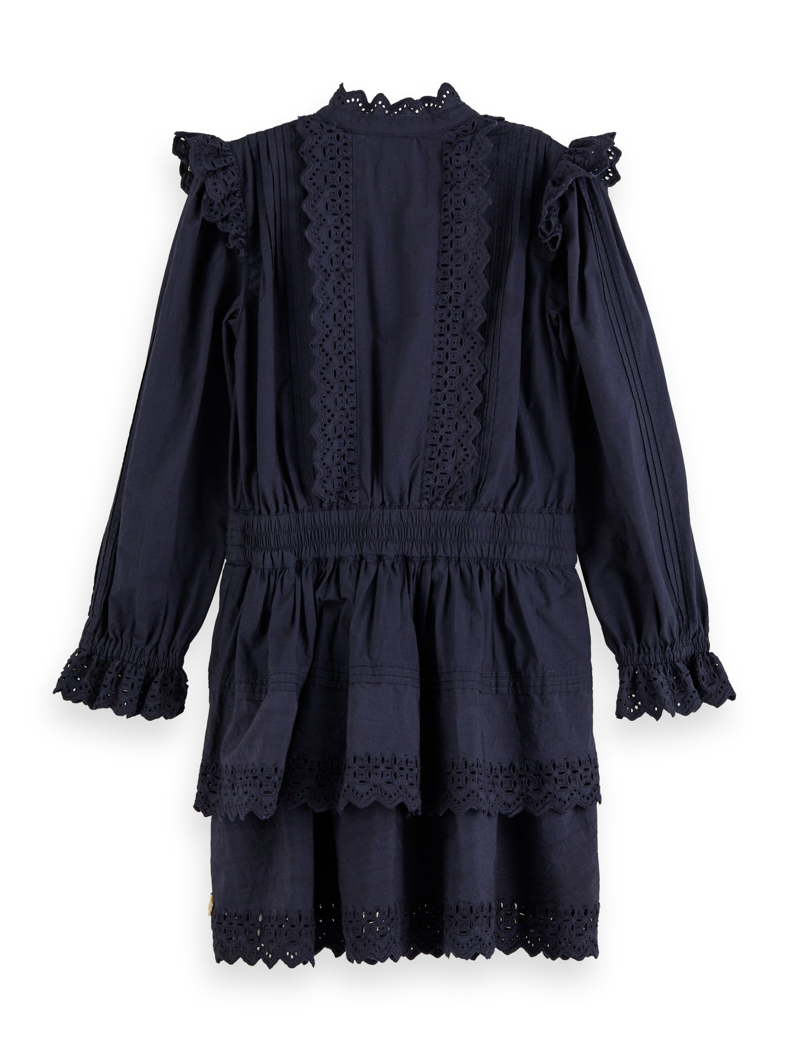 Scotch Rbelle Scotch - Dress with broderie anglaise 0002, 158172