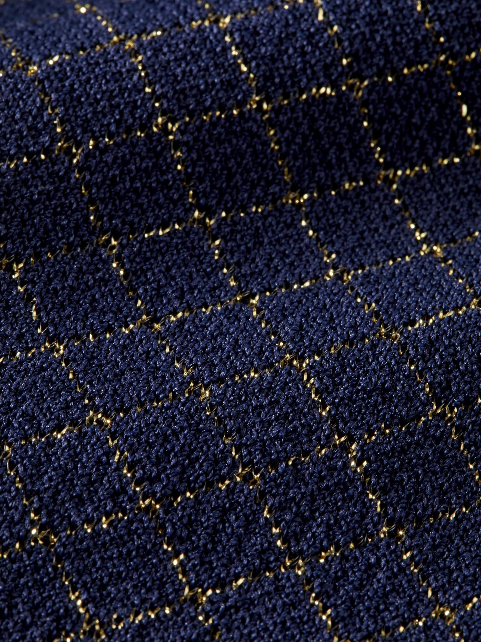 Scotch Rbelle Scotch - Flared pants intarsia lurex check 0501, 157988