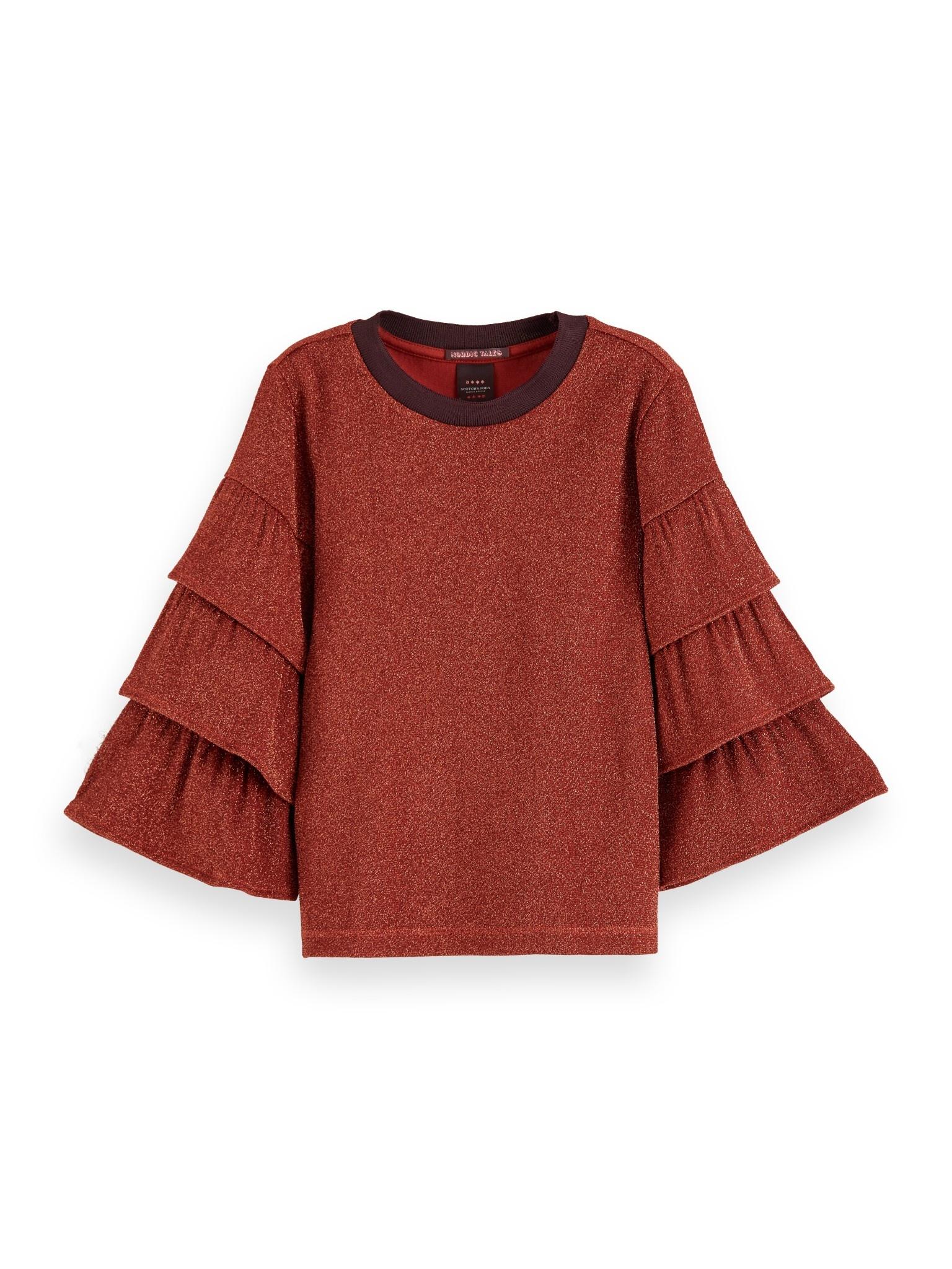 Scotch Rbelle Scotch - Jersey tee ruffle sleeves, 3836, 158080