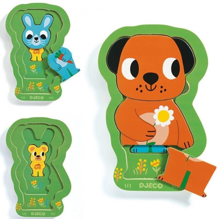 Djeco Djeco - Puzzel Charly&Co