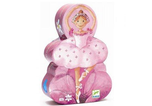 Djeco Djeco - Puzzel Ballerina's en bloemen